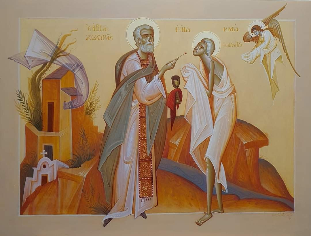 Воскресенье 18-го апреля 2021- прп Марии египетской